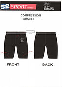 S2 Sports Customized Compression Shorts