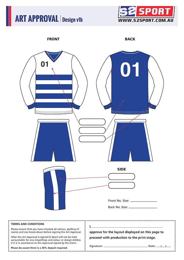 S2 Sports Customized AFL Design V1