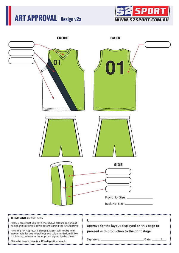S2 Sports Customized AFL Design V2