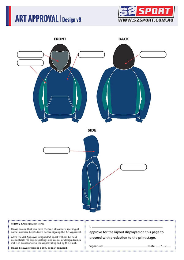 S2sport customized hoodie design v9