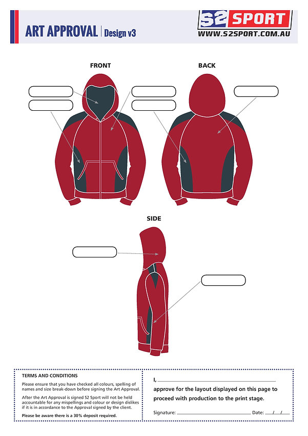 S2sport customized hoodie design v3