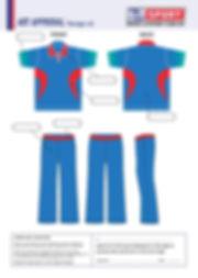 S2 Sports Customized Cricket Design V5