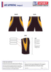S2 Sports Customized Shorts Design V2