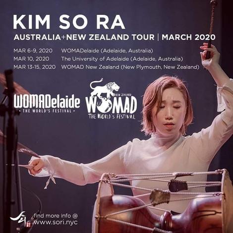 KIMSORA x WOMADelaide, WOMAD NZ