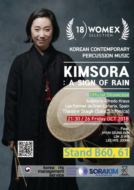 WOMEX18 official Showcase selection artist KIMSORA