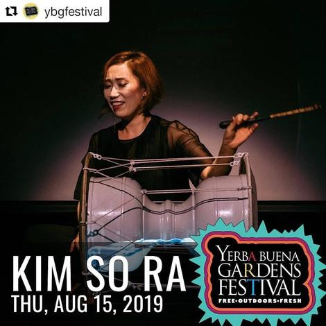 KIMSORA @ Yerba Buena gardens festival 2019