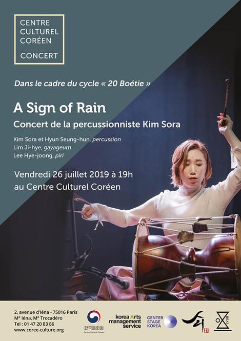 KIMSORA World Tour in PARIS 2019 #2