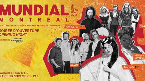 Mundial Montreal opening night Showcase - KIMSORA