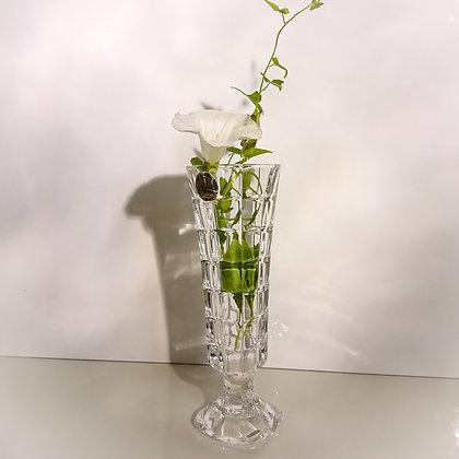 Soliflor 17 cm Cristal d'Arques avec sa boîte d'origine