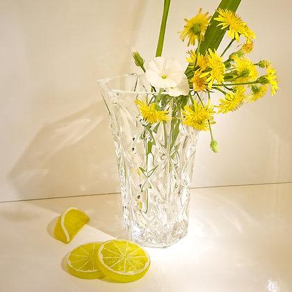 Vase en cristal art déco