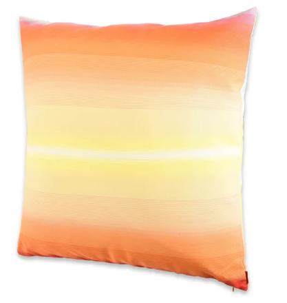 Missoni tonga orange cushion