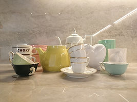 Collection de vaisselle vintage.JPG