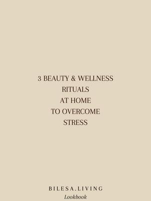 3 Rituals to overcome stress