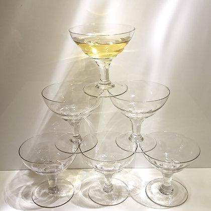 Coupes à champagne (lot de 7)