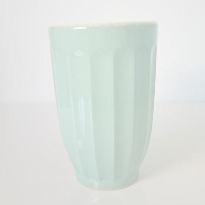 Vase céramique vert tendre multi-usages