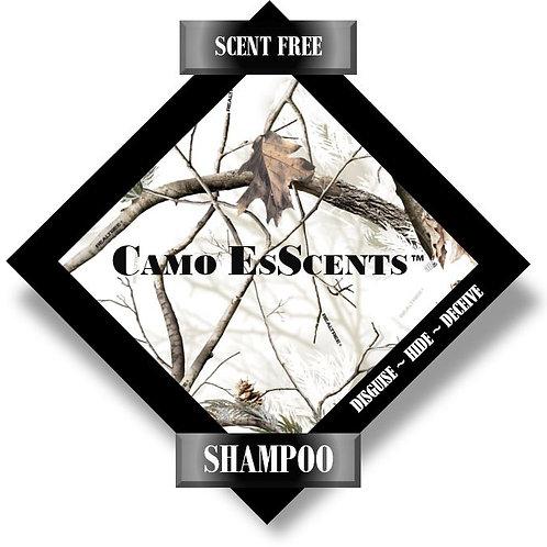8oz SCENT FREE Shampoo