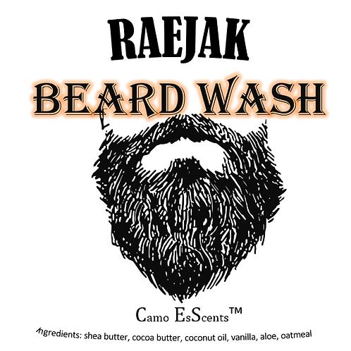 RAEJAK Beard Wash