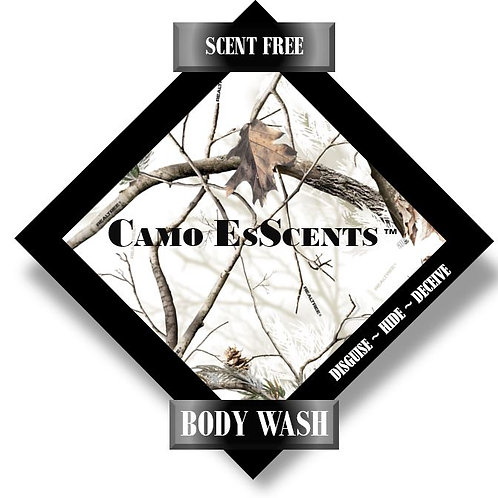 8oz SCENT FREE Body Wash