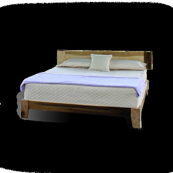 Galaxy Four layer Custom made organic mattress and frame.