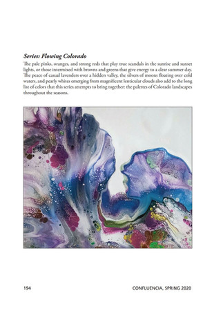 Series Flowing Colorado