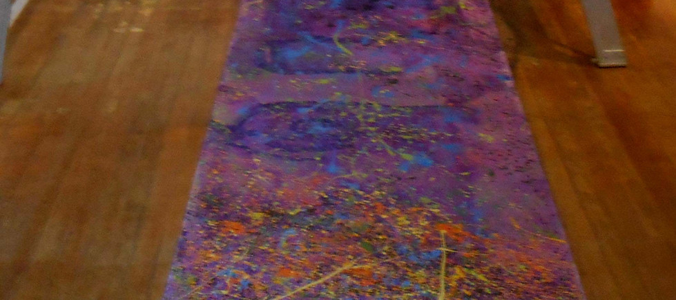 Tribute to Jackson Pollock and Astor Piazzolla
