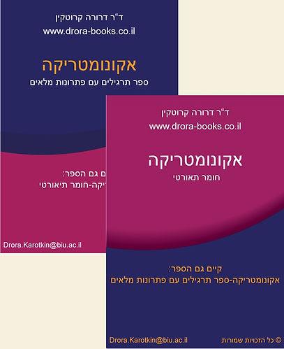 אקונומטריקה - הספרים של דרורה