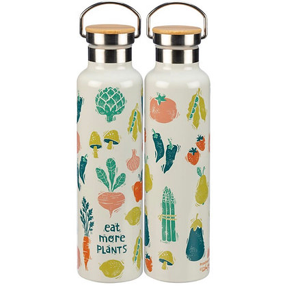 Insulated Bottle- Eat More Plants