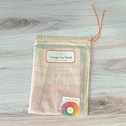 Color Wheel Tea Towel - Cavallini