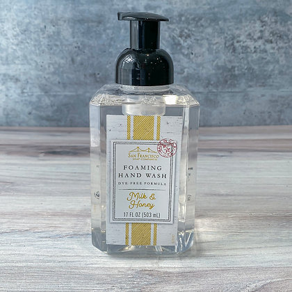 Milk & Honey Foaming Hand Soap