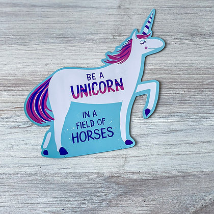 Unicorn Car Magnet