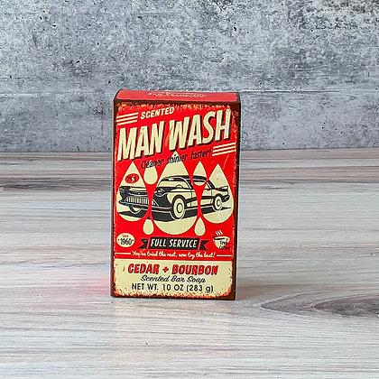 Man Wash- Bar Soap