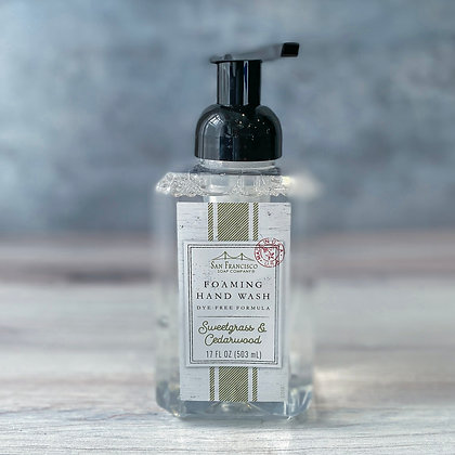 Sweetgrass & Cedarwood Foaming Hand Soap