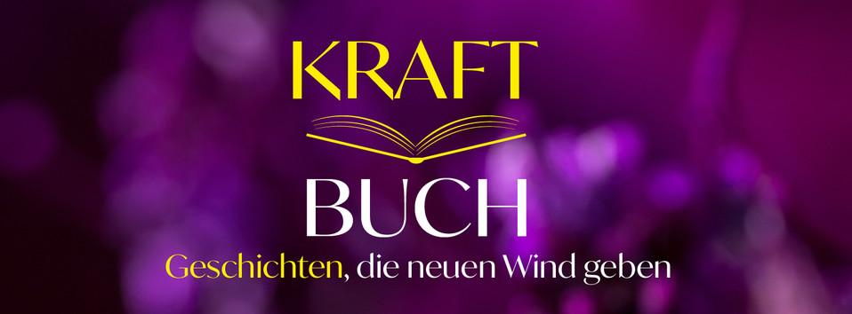 Kraftbuch Banner und Logo