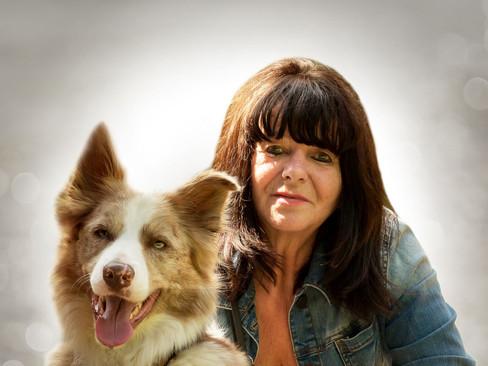 Bildbearbeitung für Hundetrainerin Rosi und ihr Bordercollie Fynn
