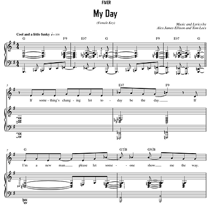 My Day - G Major (Female Key)