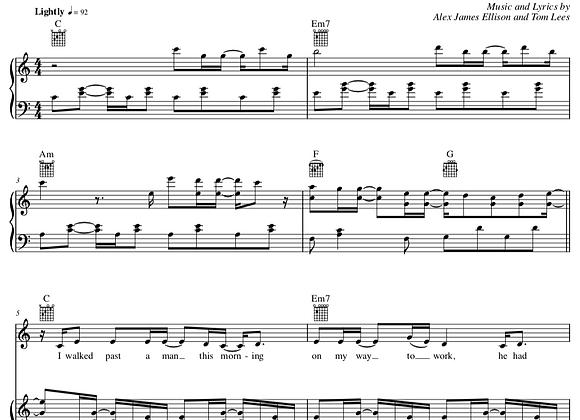 Whisper It To Me - C Major (Original Key)