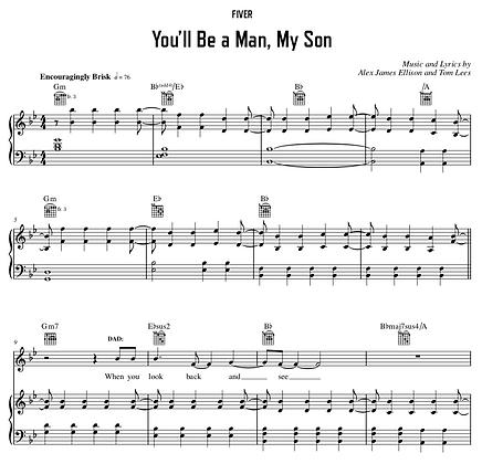 You'll Be A Man, My Son - G Minor (Original Key)