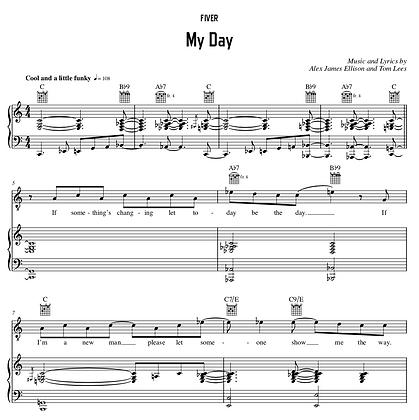 My Day - C Major (Original Key)