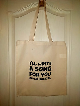 Tote Bag - I'll Write A Song For You