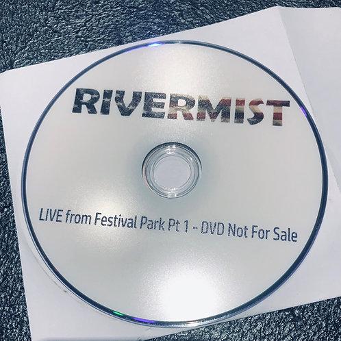 LIVE DVD parts 1 & 2 (approx 70 minutes ea)