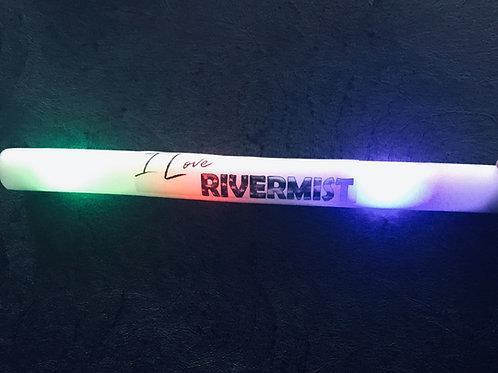 """I Love Rivermist"" Lighted Fan Wand"