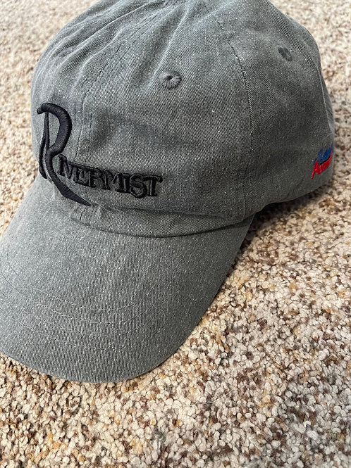 Weathered adjustable golf cap