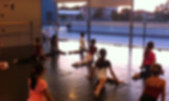Piccole danzamoderna crescono 😊 #studio