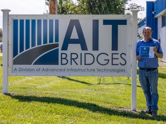 AIT Bridges' President & Chief Engineer Ken Sweeney Receives ENV SP Certification