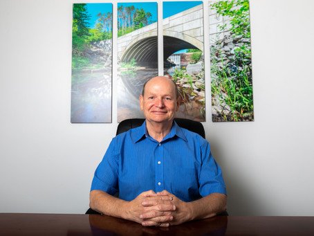 Ken Sweeny Featured in WABI Story