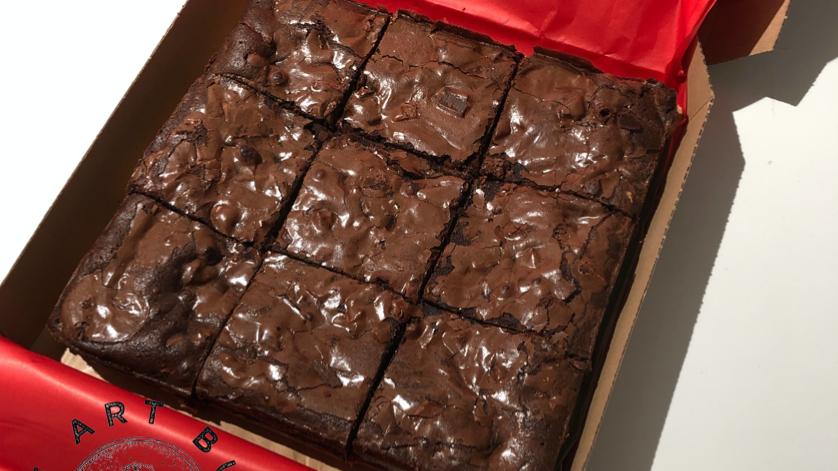 Cookie Dough Oreo Brownie
