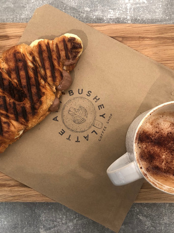 Croissant and Cappuccino