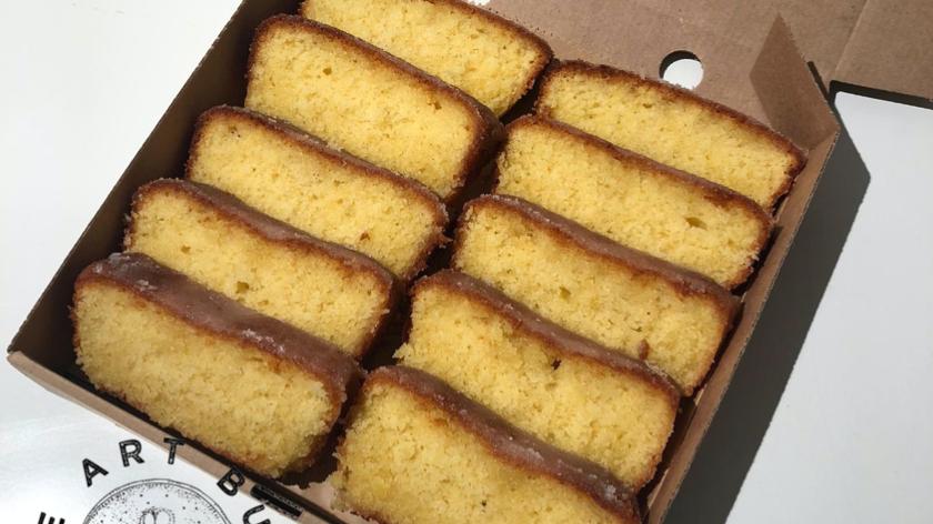 Lemon and Almond Loaf Cake (GF)