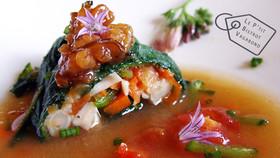 Consoude Surprise: Couteaux aux Petits Légumes-Bouillon à l'Aka-Miso