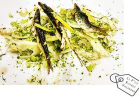 Sardines Fumées Thym/Romarin   Cru de Fenouil/Brocoli